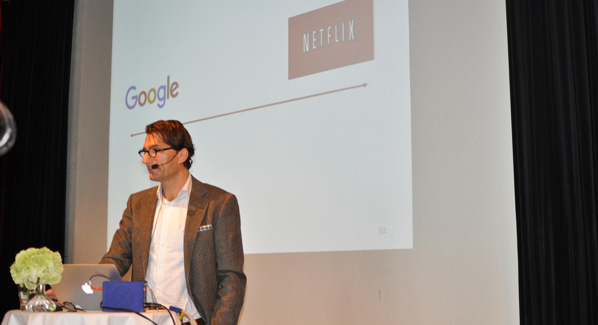 Stefan Saidac på Wellnets event Health Branding.